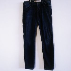 Guess Woman Skinny Dark Wash Blue Jeans size 27